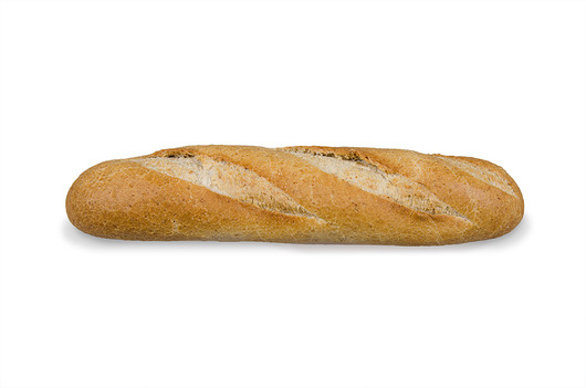 Demi baguette wheat 130g
