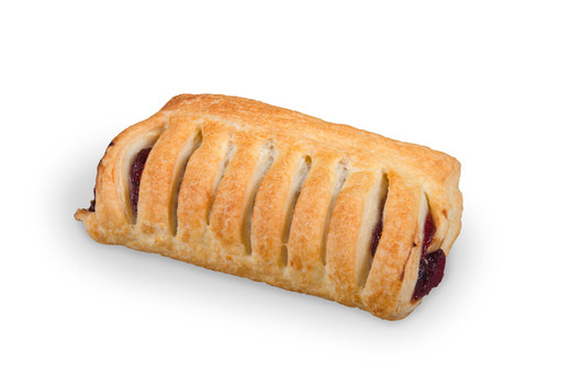 Puff pastry crest cherry 65g