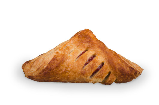 Puff pastry turnover strawberry 100g