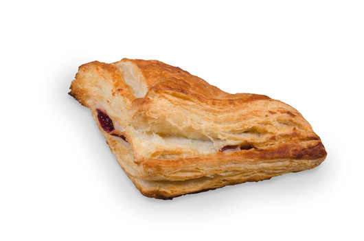 Puff pastry turnover cherry 100g