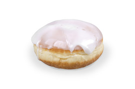 Berliner with fruit filling glazed 80g