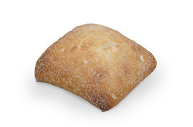 Bread roll plain 57g